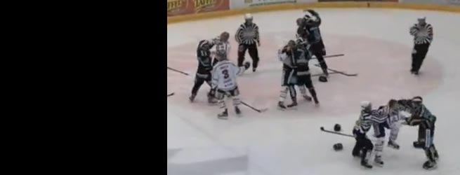 Hockey fight nets 439 penalty minutes