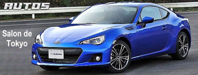 Le très attendu coupé BRZ de Subaru enfin dévoilé!