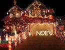 De magnifiques décorations de Noël extérieures